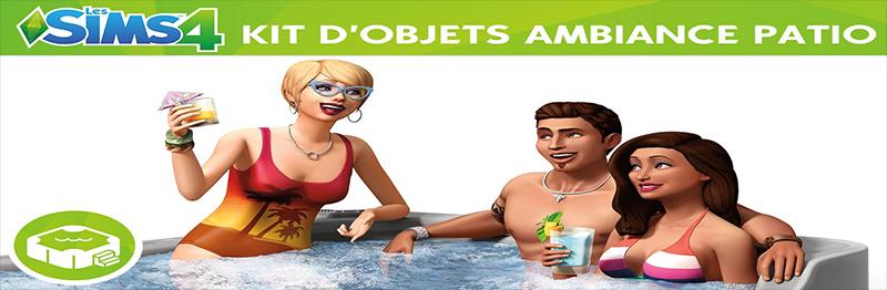 Les Sims 4 Ambiance Patio Télécharger