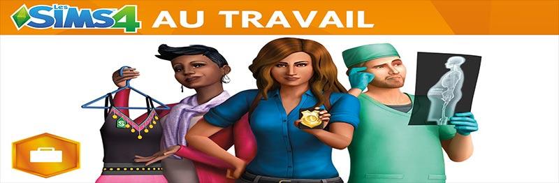 Les Sims 4 Au Travail Telecharger