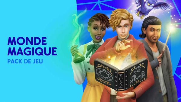 Les Sims 4 Monde Magique Gratuit Dlc Jeu Telecharger