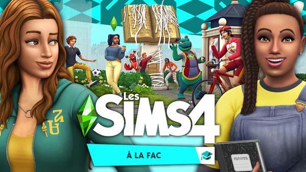 Les Sims 4 À la fac Gratuit