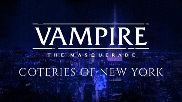 Vampire The Masquerade Coteries of New York Gratuit
