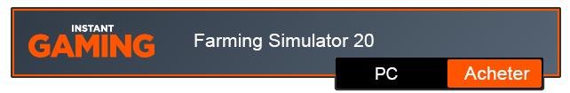 Farming Simulator 20 Télécharger