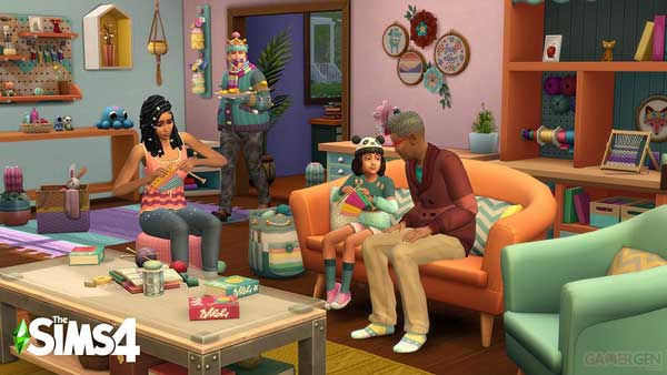The sims 4 Free Pro Knitting