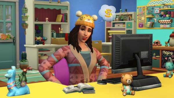 The sims 4 Knitting Pro Download