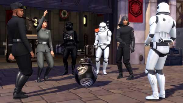 Les Sims 4 Star Wars Voyage sur Batuu gratuit