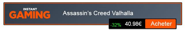 ASSASSIN'S CREED VALHALLA ACHETER