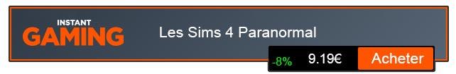 Acheter Jeu Les Sims 4 Paranormal PC