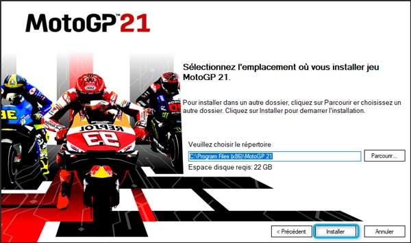 MotoGP 21 version complete