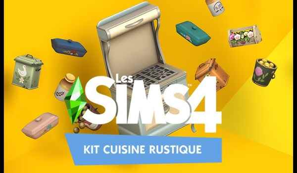 The sims 4 Rustic kitchen Download