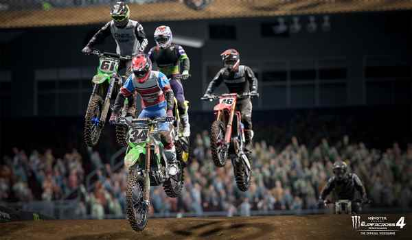 Monster Energy Supercross 4 gratuit