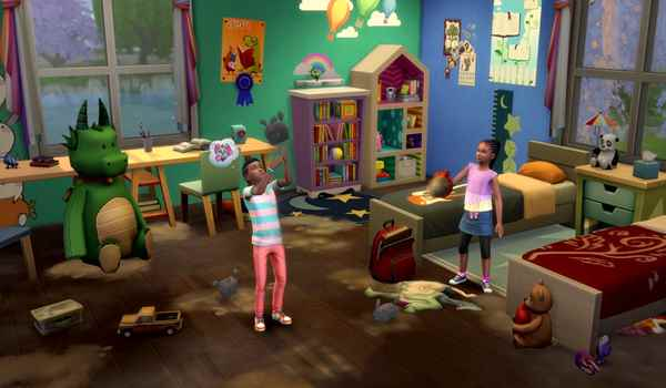 The sims 4 Free spring cleaning