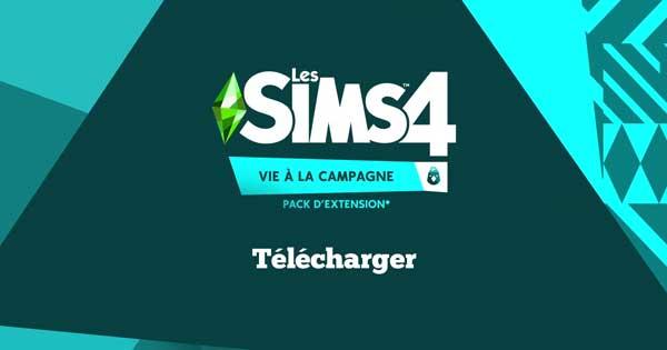 Sims 4 Vie à la campagne Télécharger