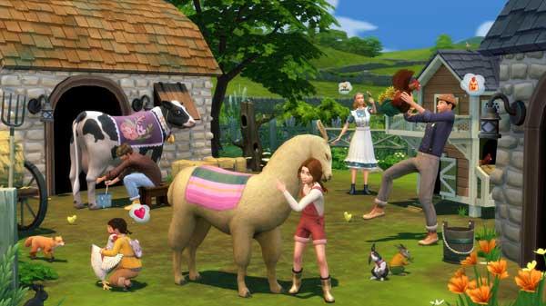 Sims 4 Vie à la campagne jeu pc